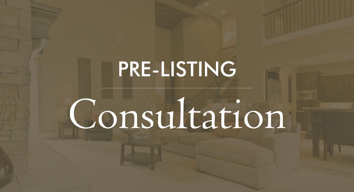 Pre-Listing Consultation